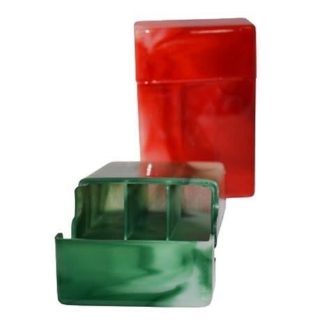 Plastic sigarettendoos voor 20 sigaretten