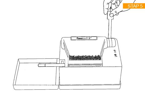 Handleiding stap 5 van de Powermatic 2 Plus