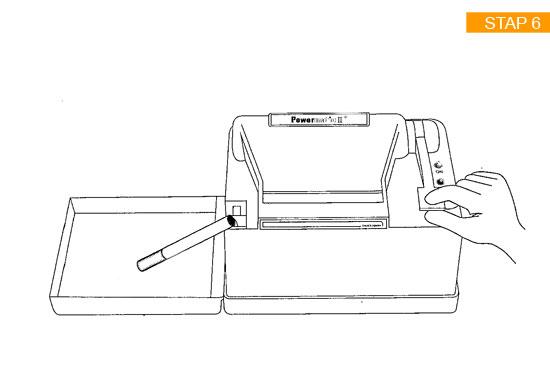 Handleiding Stap 6 van de Powermatic 2 Plus