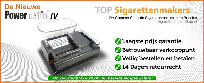 Powermatic 4 Elektrische Sigarettenmaker